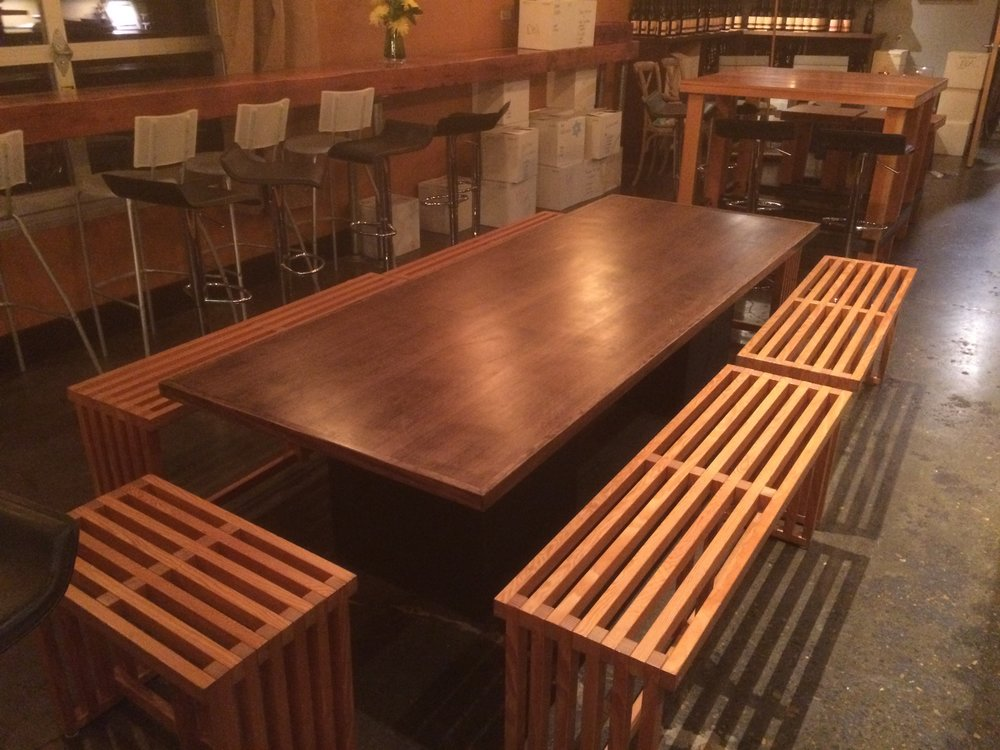 Long dinning table