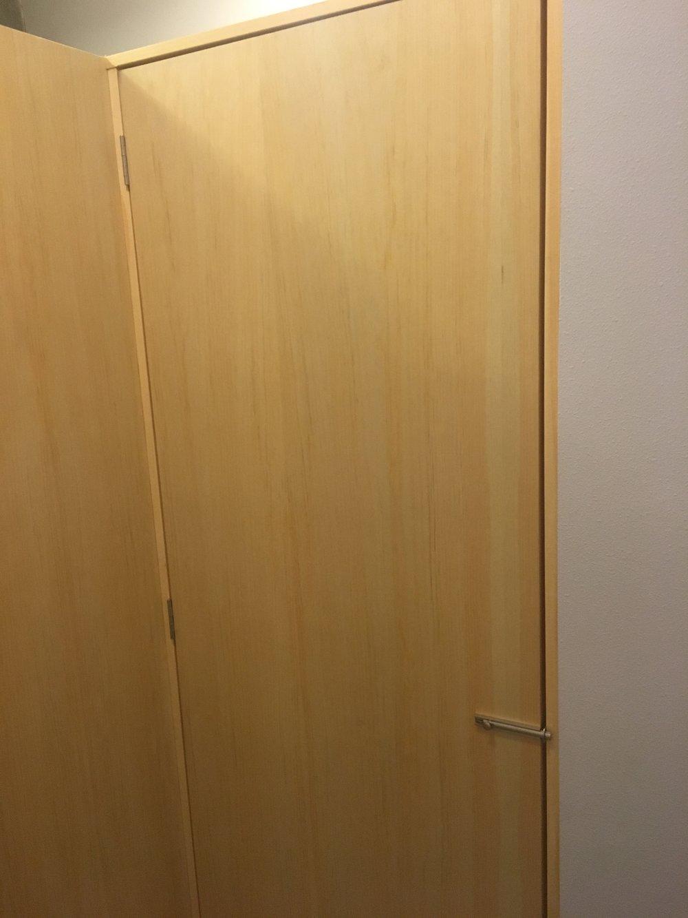 Employee changing room