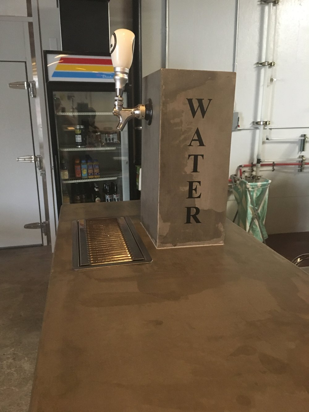 Water draft tower