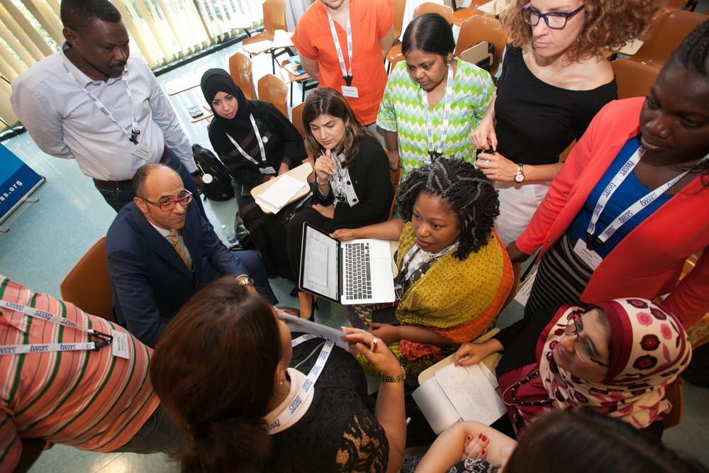 SCIENTISTS AND POLICYMAKERS EXCHANGED IDEAS AT A AAAS-TWAS SCIENCE DIPLOMACY COURSE   DEMIS ALBERTACCI/TWAS