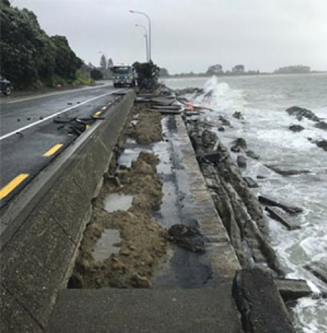 SH6, Rocks Road – Nelson City Council Facebook page, 1 February 2018.