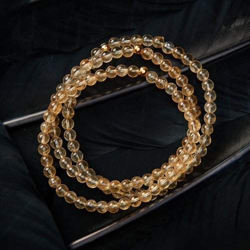 bracelet for pi shui wealth feng yao and protection citrine