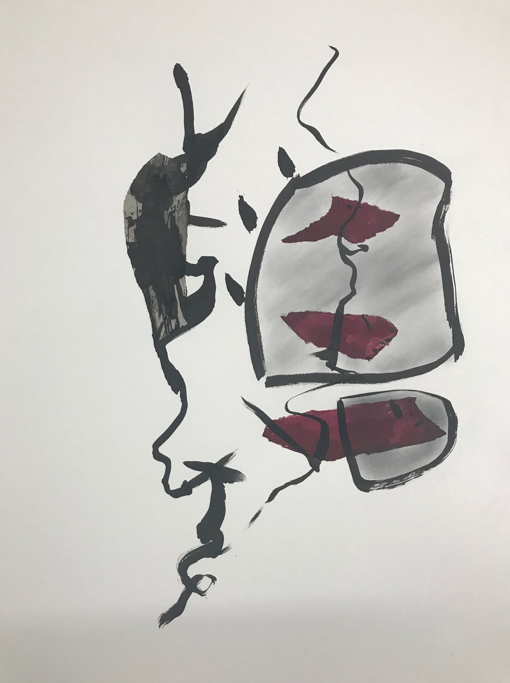 COCHINEAL DRAWING  #7