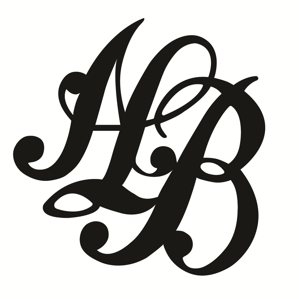 Amy's logo, inspired by the Victorian mourning pendant