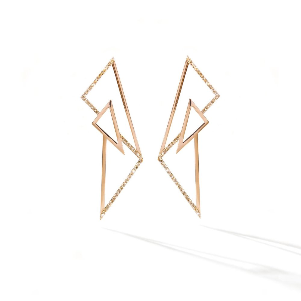 'Kinetic' Earrings: The first piece Sophie designed