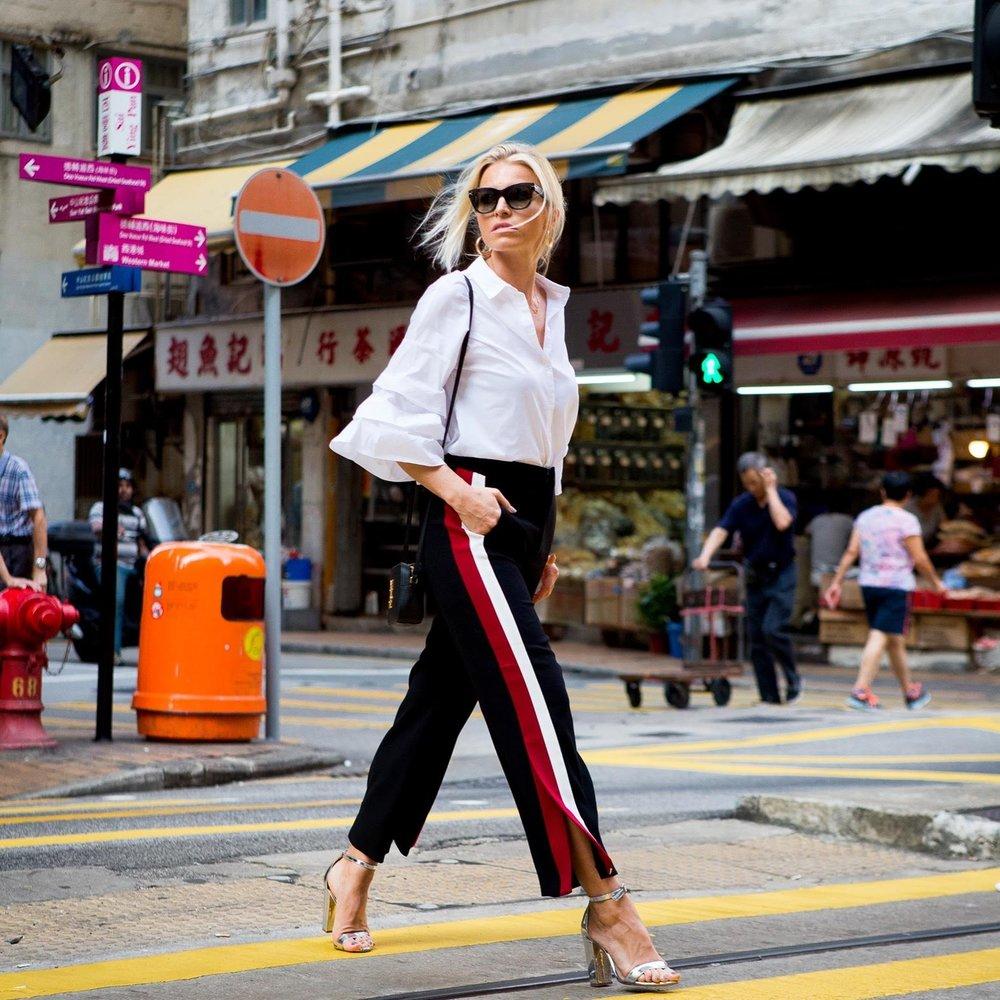 Sophie in her favorite city, Hong Kong