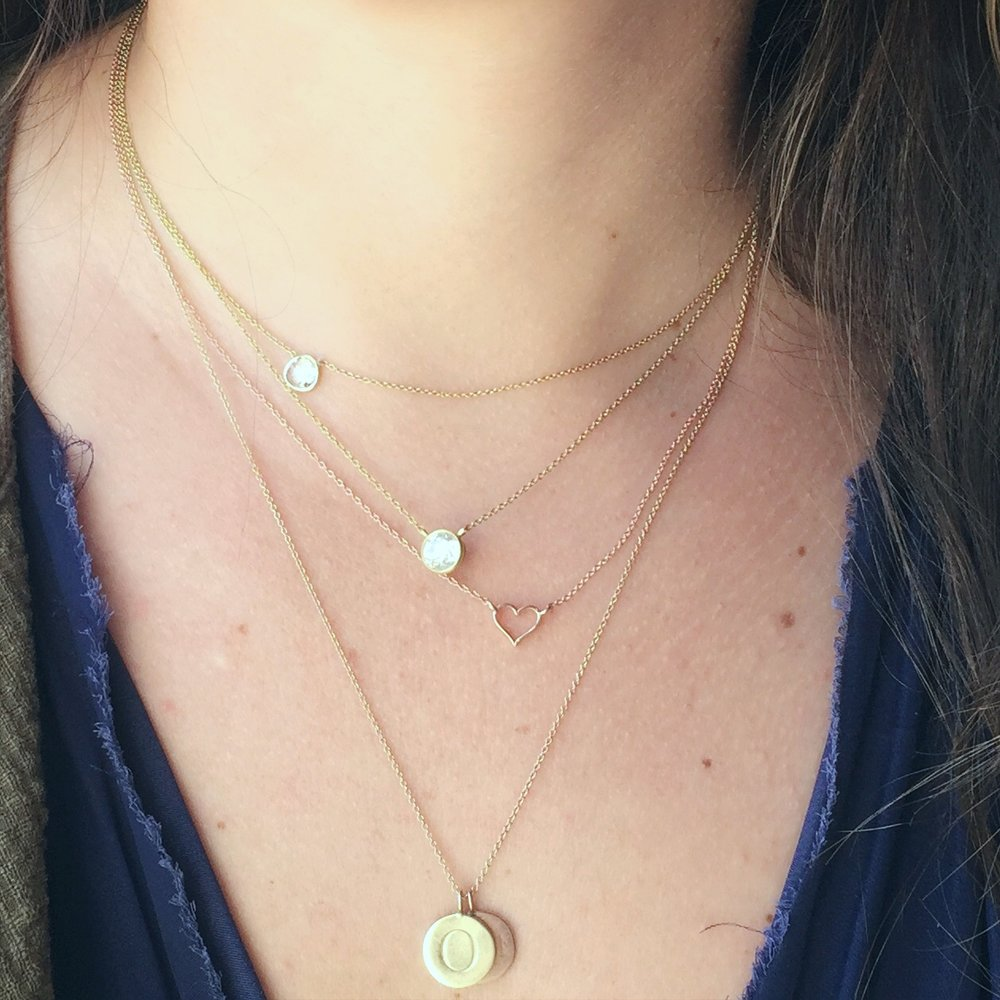 Chelsey's everyday necklaces