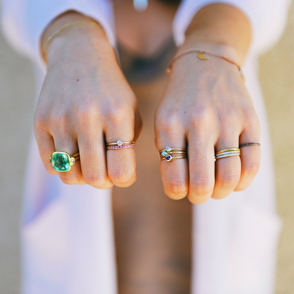Chelsey's everyday rings