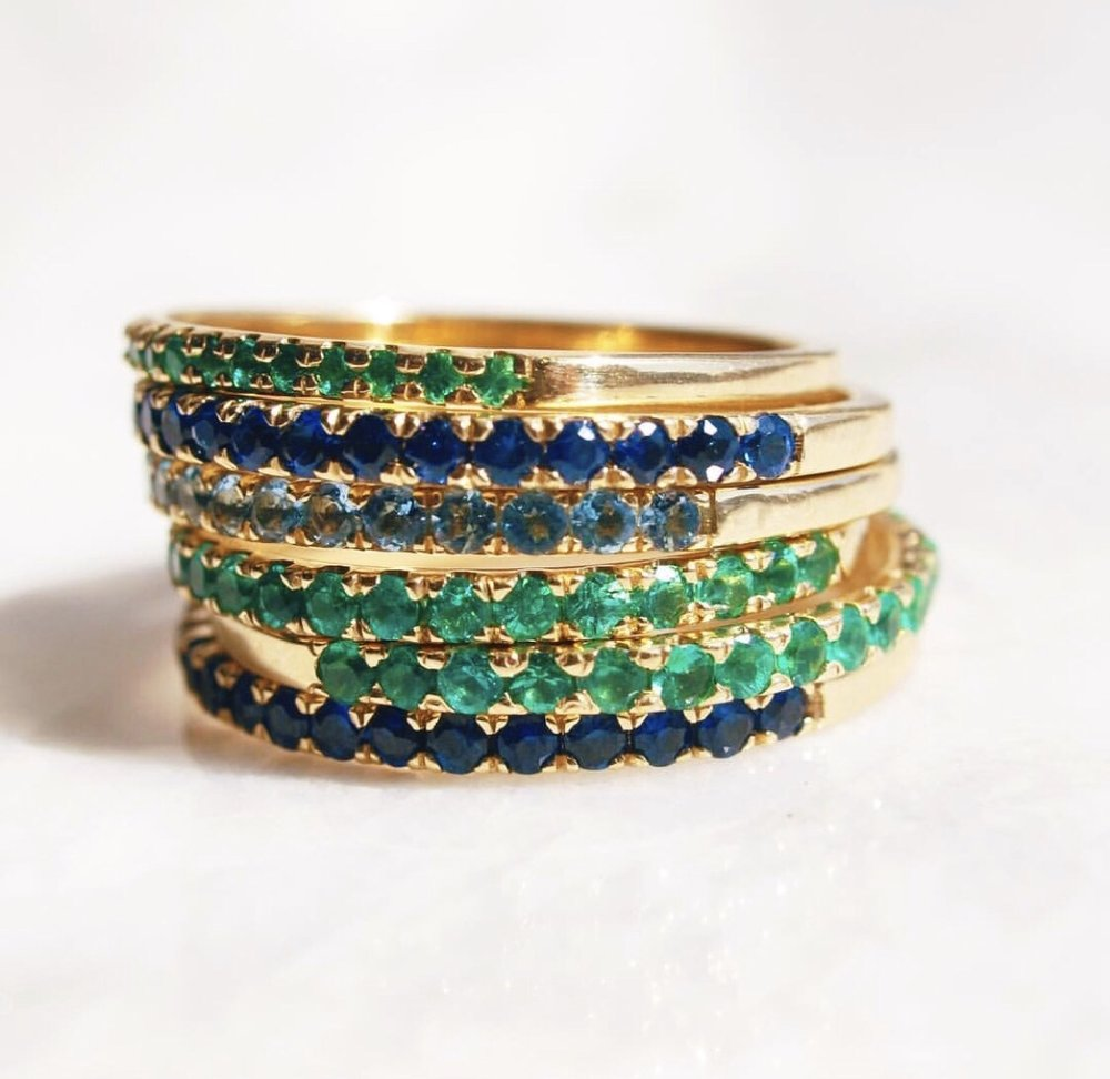 Starling's pavé bands