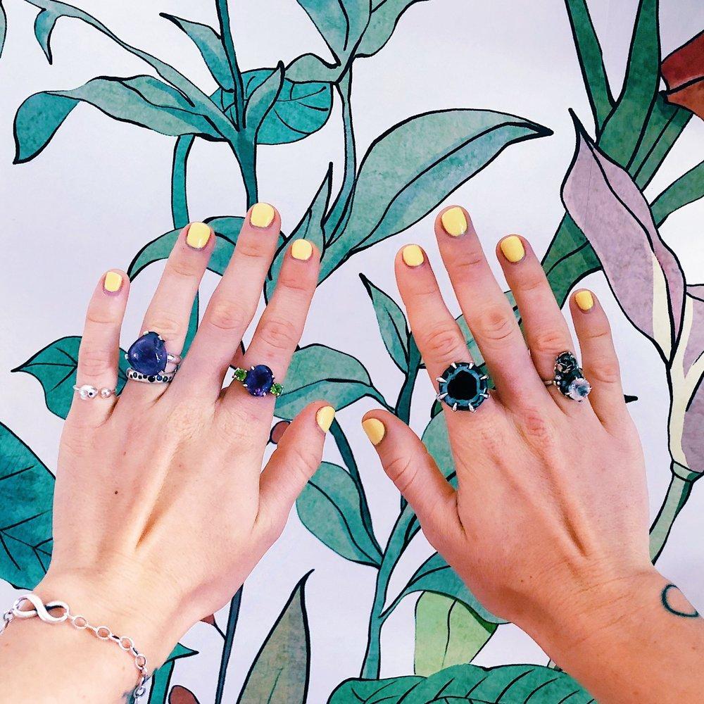Anna's everyday jewelry