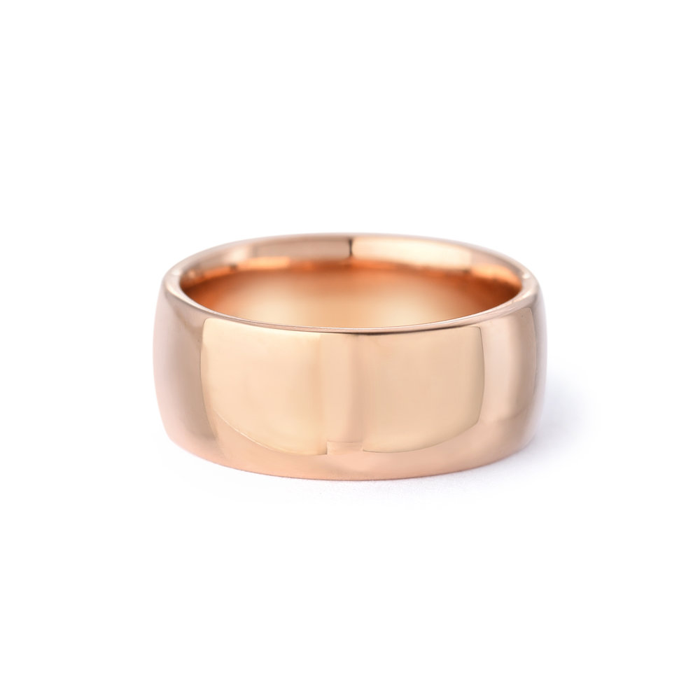 Wedding Ring: Jewelry that makes Emily feel strong