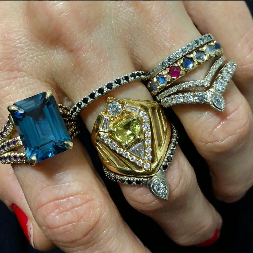A few of Brittany's everyday jewelry pieces