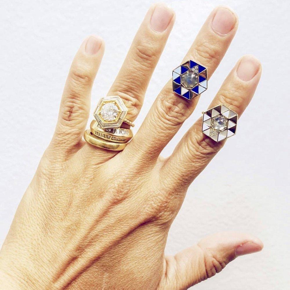 Lauren's everyday jewelry