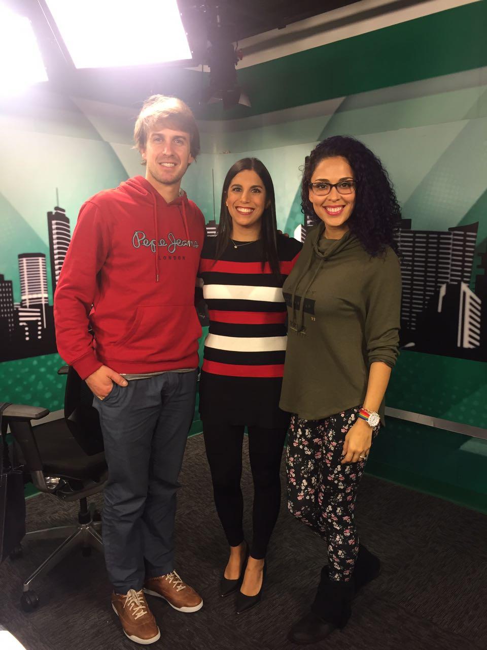 Un adelanto de mi nueva entrevista para Capital Tv con Adriana Quevedo