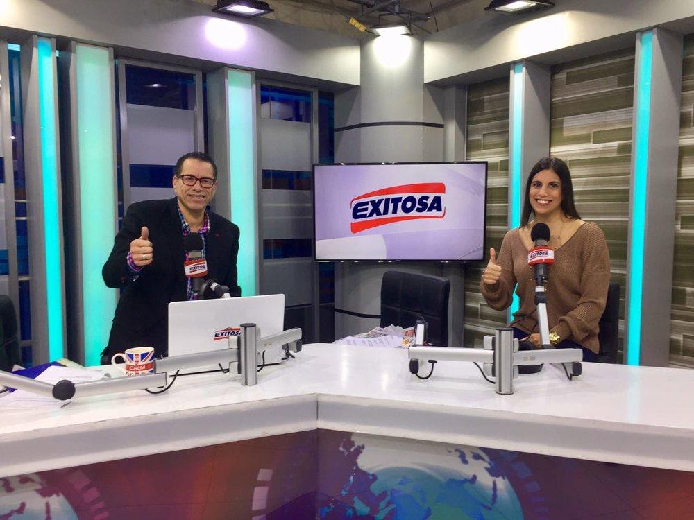 Entrevista con Philipe Butters por Exitosa Tv acerca de la alimentación y la ansiedad.
