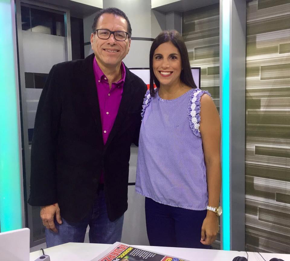 Con Phillip Butters para Exitosa Tv sobre los niños desobedientes