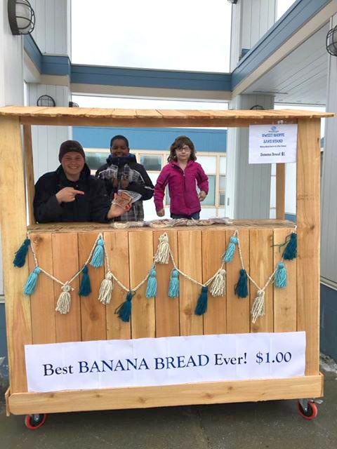 2017 Innovation recipient,  the Sweet Shoppe , a student-run bake stand &STEM project,  Boys &Girls Club of the Kenai Peninsula - Kasilof