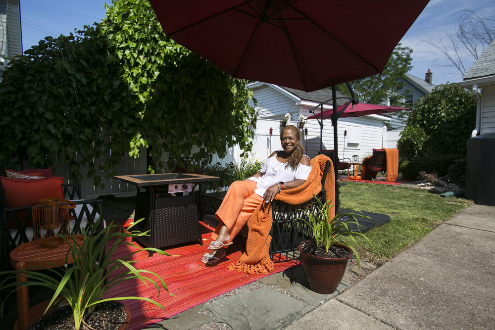 The inaugural East Side Garden Walk, from 10 a.m. to 3 p.m. Saturday, July 21, 2018, will include Constance Strother's tropical-inspired garden on Arden Avenue.