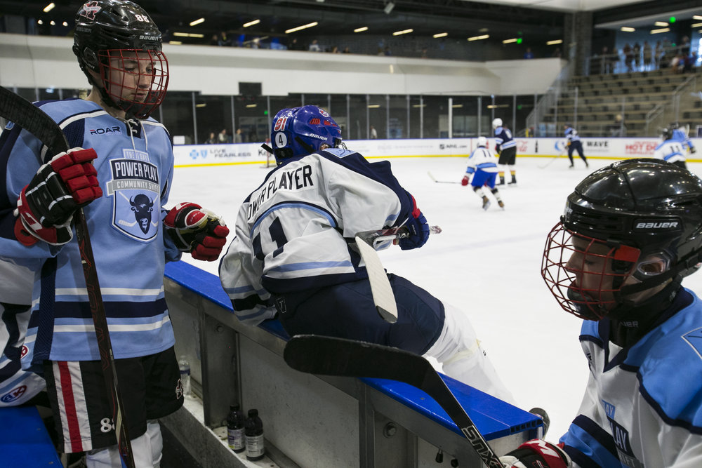 Players took to the ice in 120 four-hour shifts during the 11 days of the tournament.