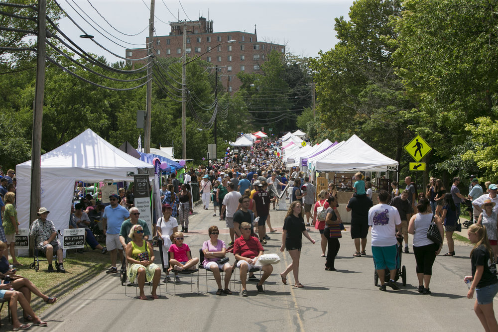 Crowds enjoy performances, arts and crafts, food and nature at the 9th annual Glen Park Art Festival on Glen Avenue in Williamsville.