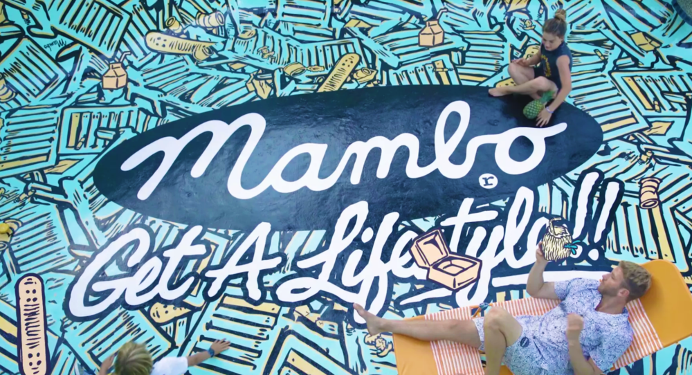 MAMBO GET A LIFESTYLE CAMPAIGN VIDEO SS17
