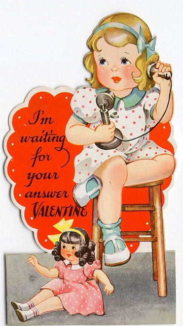1920s Valentine saved in my mother's baby book