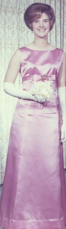 The pink jeweled pin ... 1964