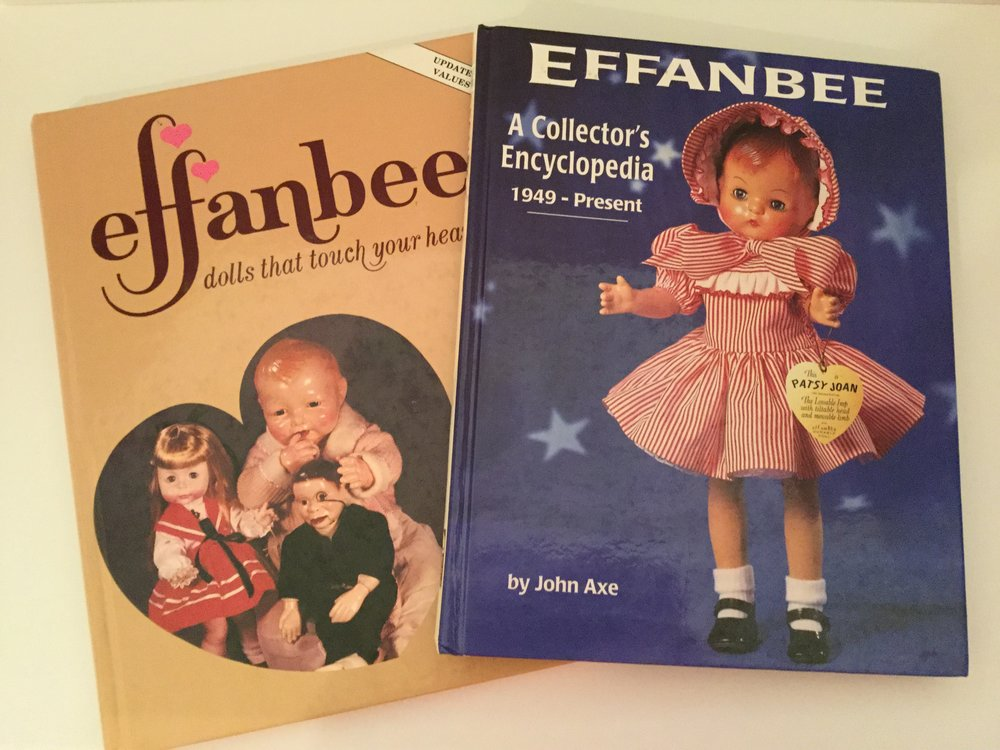 Reference books really help identify the doll you are searching for. I find my self going back many times to learn more.