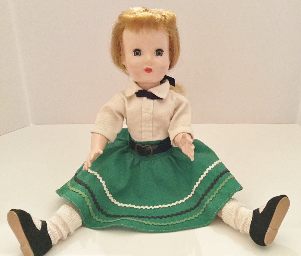 """1952 Effanbee Honey walker doll ... 14"""""""