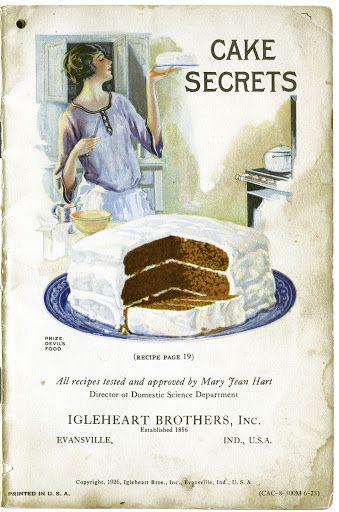 1926 Cake Secrets