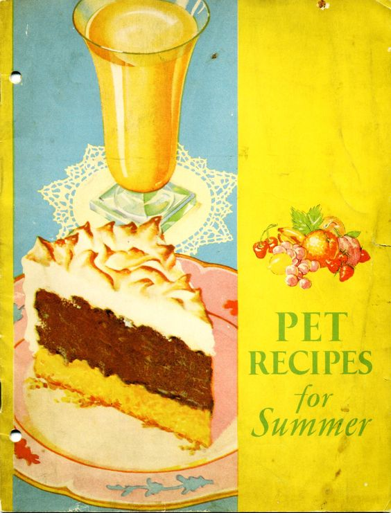 1932 Pet Recipes for Summer ... Pet Milk booklet