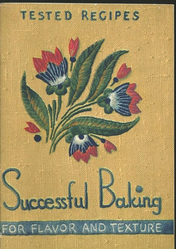 1937 Successful Baking for Flavor and Texture ... Arm and Hammer baking powder