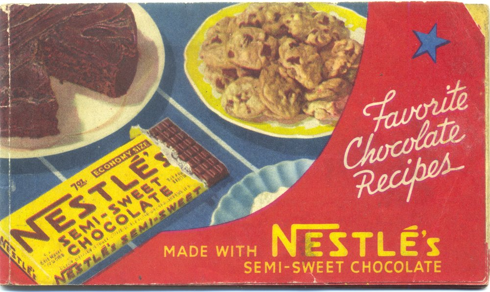 1941 Favorite Chocolate Recipes by Nestlé's Chocolate