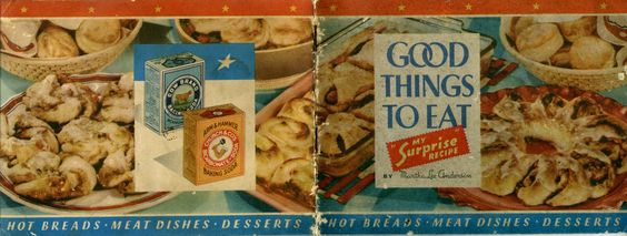 1942 Good Things to Eat ... My Surprise Recipe (a homemade baking mix)