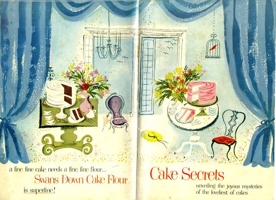 1953 Cake Secrets by Swans Down Cake Flour