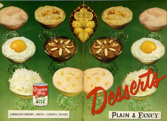 1953 Desserts Plain and Fancy
