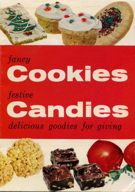 1956 Fancy Cookies and Festive Candies
