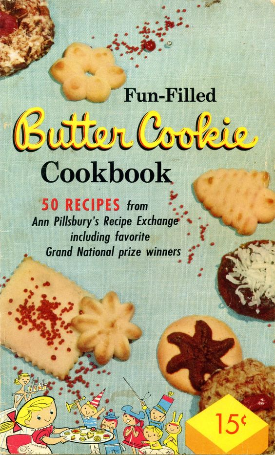 Undated Pillsbury Butter Cookies Vol. 1