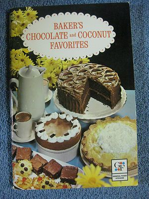 1962 Baker's Chocolate and Coconut Favorites