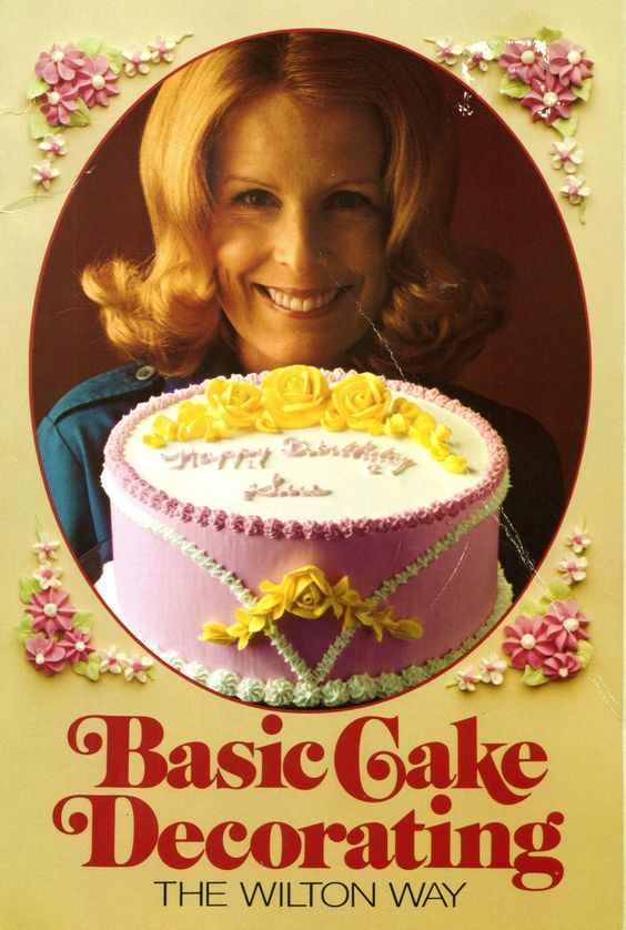 1975 Basic Cake Decorating the Wilton Way
