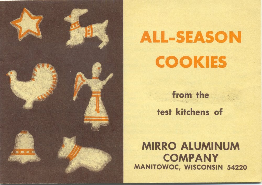All Season Cookies ... booklet that came with Mirro cookie cutters