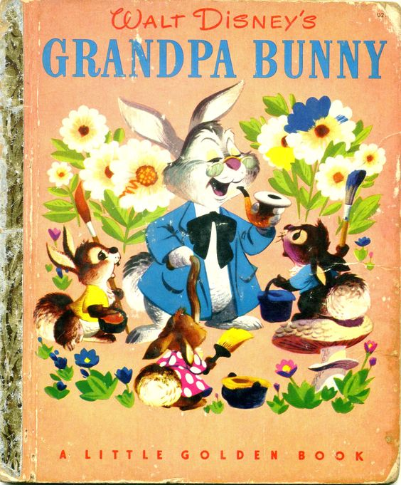 Grandpa Bunny, 1951 edition, from my collection