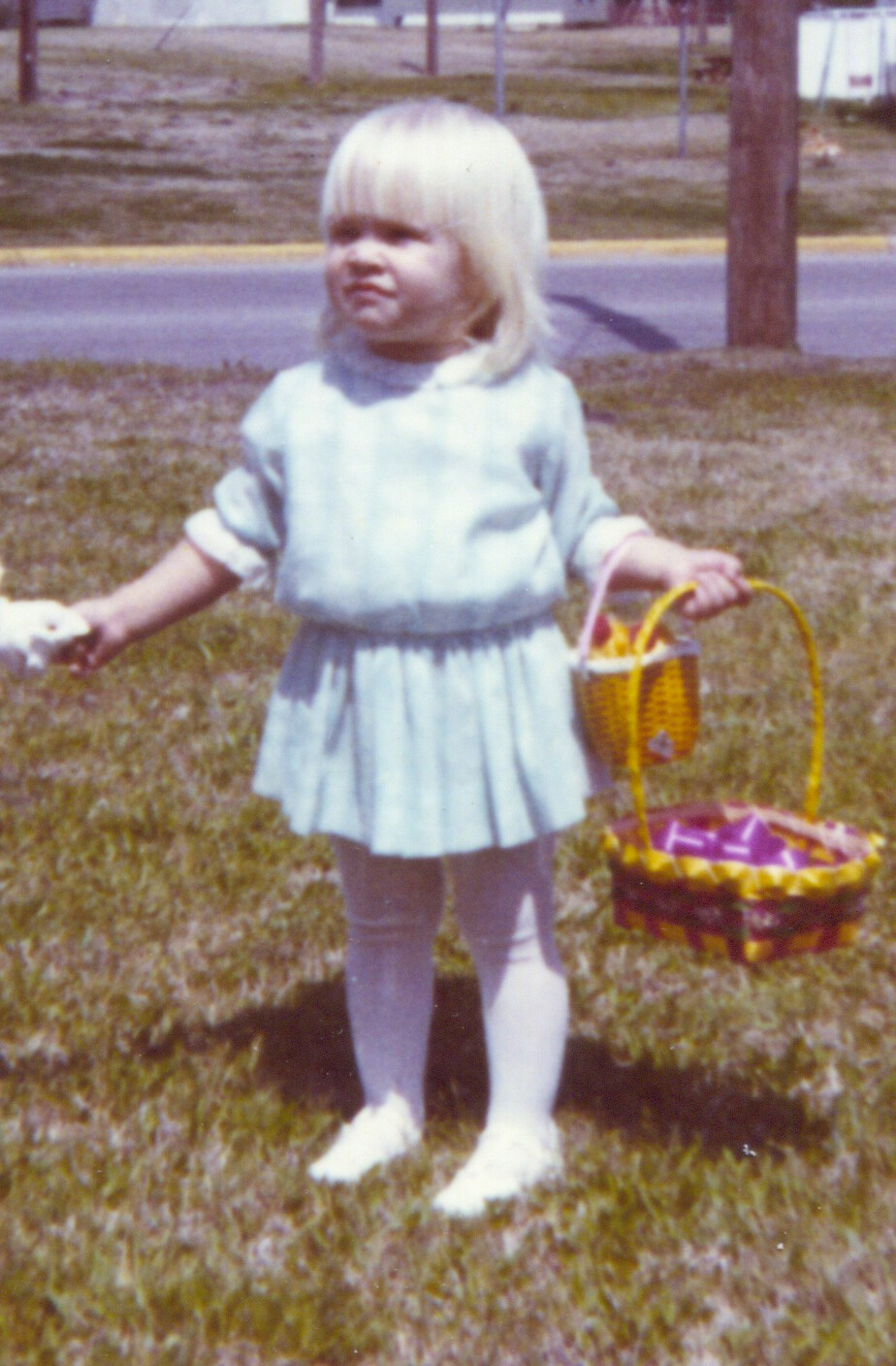 Two Easter baskets ... Lisa, 1970