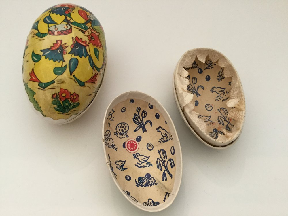 Made in Germany paper egg