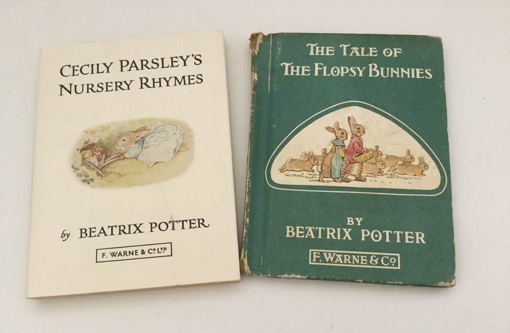 My two Beatrix Potter books