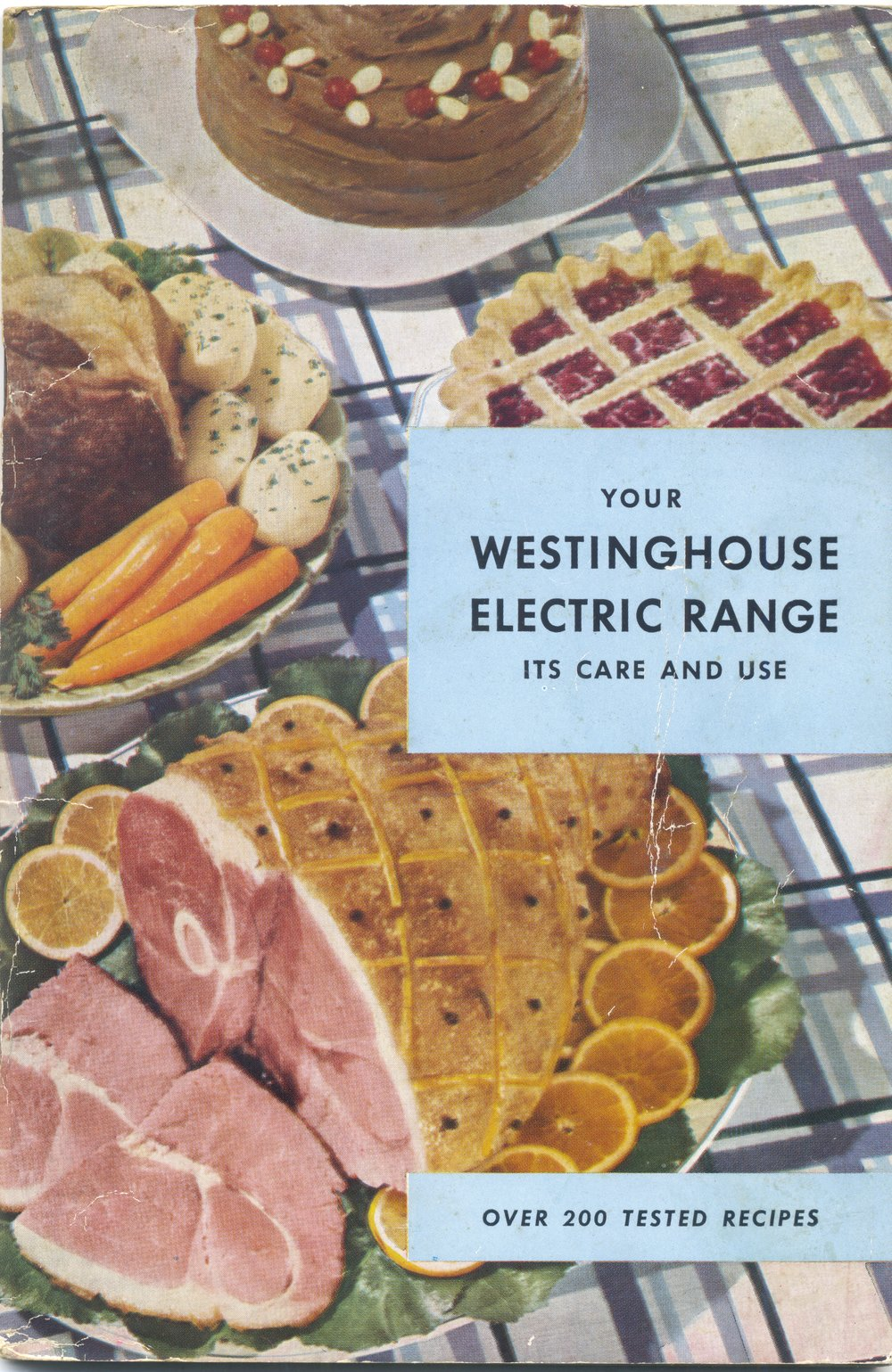 1948 Westinghouse electric range booklet