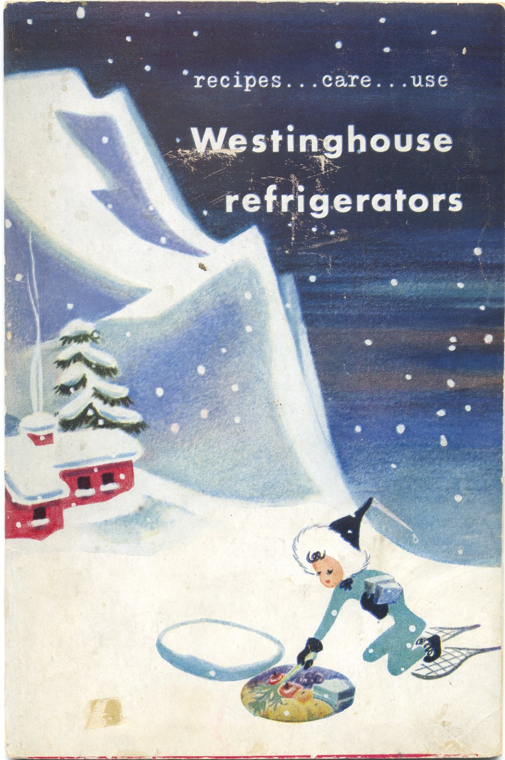 1948 Westinghouse refrigerator booklet ... love the illustration
