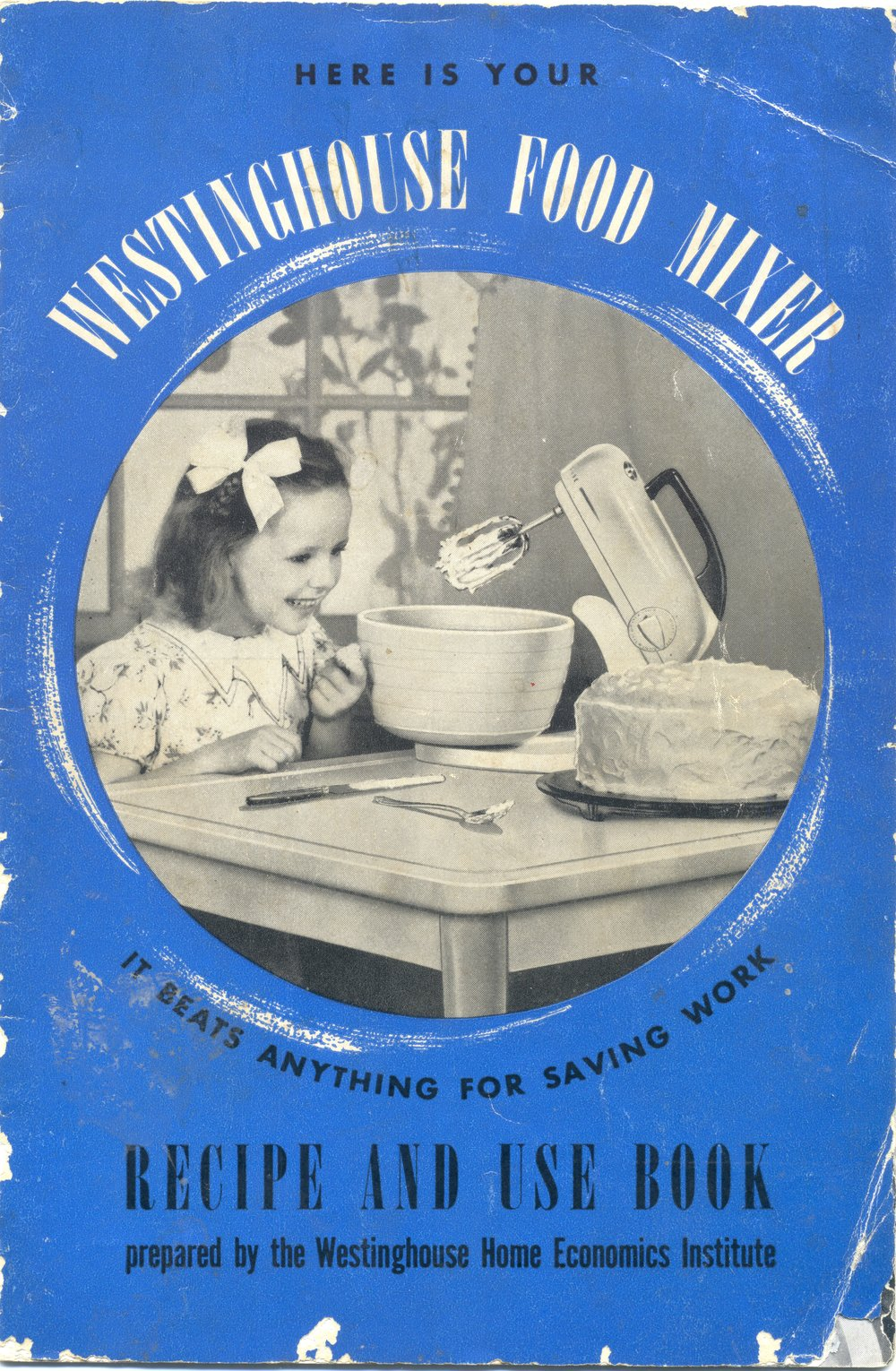 An undated Westinghouse food mixer booklet
