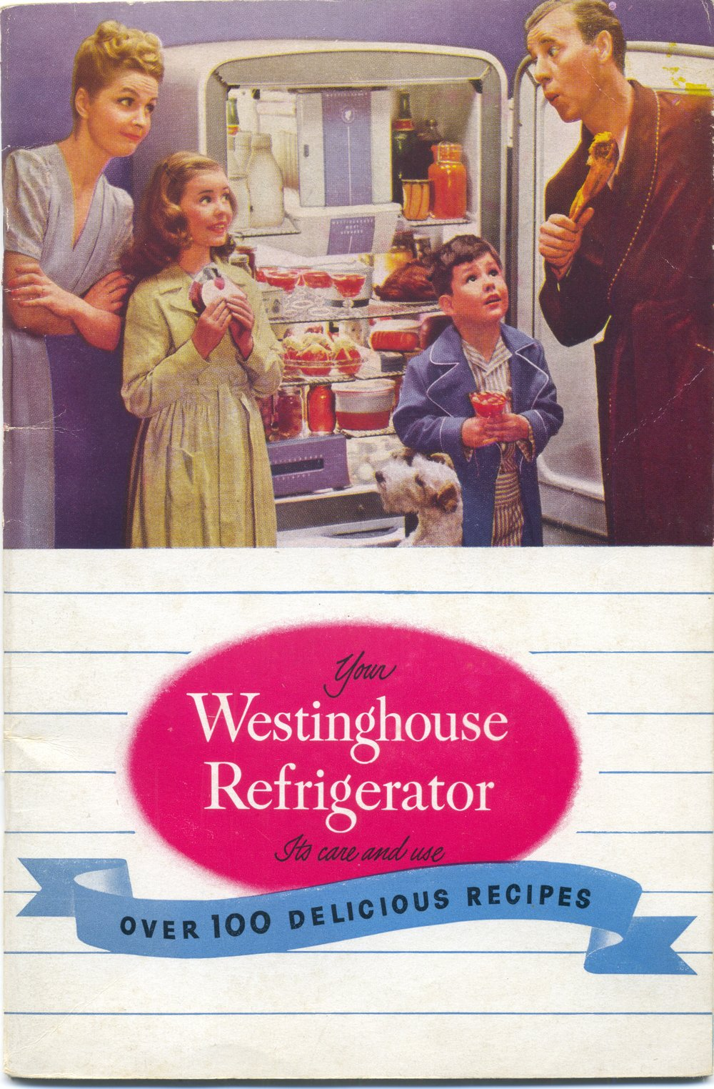 An undated Westinghouse refrigerator booklet
