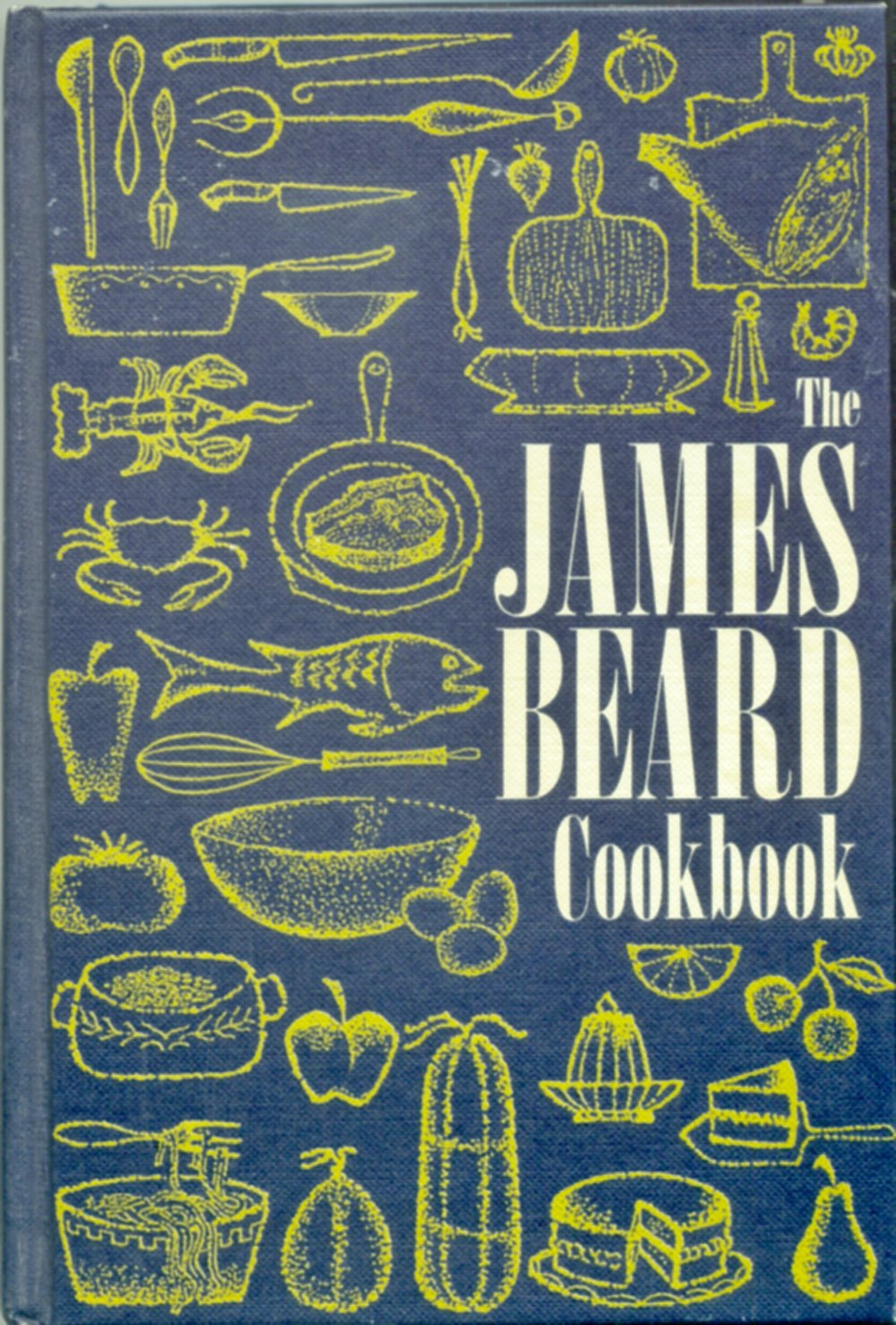 The cover of my James Beard Cookbook without its dust jacket